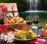 outdoor: Picnic ピクニック / ピクニックバスケット・お弁当・コーディネート・自然風景等