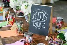 La table des enfants Mariage