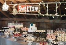 Candy bar Mariage / Candy bar wedding, idées, inspiration