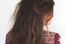 Hair styles / Peinados para melenas largas