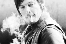 Daryl Dixon / 'I may be the one walking away, but you're the one that's leaving' . . Excuse me. Daryl Dixon my husband >.<