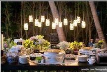 Dessert Table / Mariage inspiration buffet dessert