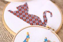 craft: Embroidery 刺繍 / 刺繍の参考アイデア