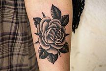 Black Work Tattoos / Black Work