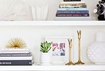 Shelfie Goals / How to style your book shelves like a pro