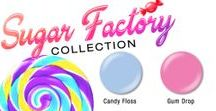 Sugar Factory / The Sugary Factory Collection features 6 brand new Polish Pro shades in sticky sweet hues, for a look that stands out. These new shades are bright and bold shades that are sure to give you a cavity, they look good enough to eat. Start the new year by breaking your diet and indulging in sticky sweet.
