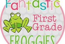Fantastic First Grade Froggies / This board is filled with ideas and resources from The Teacher Bag (formally, Fantastic First Grade Froggies).