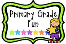 "*Primary Grade Fun / A board to find fun activities for the primary grade.  If pinning, please limit paid items to 1 for every 3 or 4 ""fun"" pins.  Thanks!"