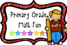 """*Primary Grade Math Fun / A board to find fun math activities for the primary grade.  If pinning, please limit paid items to 1 for every 3 or 4 """"fun"""" pins.  Thanks!"""
