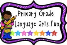 """*Primary Grade Language Arts Fun / A board to find fun literacy activities for the primary grade.  If pinning, please limit paid items to 1 for every 3 or 4 """"fun"""" pins.  Thanks!"""