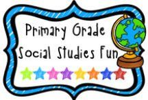 "*Primary Grade Social Studies Fun / A board to find fun social studies activities for the primary grade.  If pinning, please limit paid items to 1 for every 3 or 4 ""fun"" pins.  Thanks!"