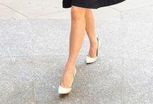 WHITE SILETTOS / White stilettos make a courageous comeback