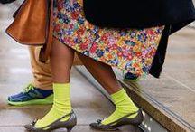SOCKS / Socks and shoes