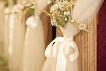 Decorating your ceremony / some simple, and some not so simple, ways to decorate