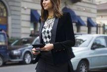 TAILORED JACKET LOOK / Tailored jacket Look