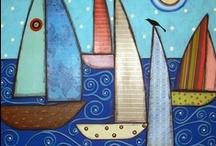 Boat crafts / Πολλές ιδέες για κατασκευές πλοίων - βάρκας