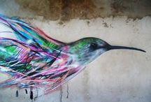 Grafitti / because graffiti is atype of art