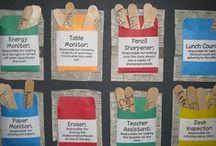 Class jobs - helpers / Καρτέλες , πίνακες και πολλές ιδέες  σχετικά με τα καθήκοντα και του βοηθούς της τάξης.