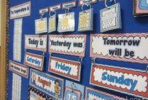 Calendar in class / Διάφορα ημερολόγια που μπορούν να χρησιμοποιηθούν σε σχολική τάξη (εβδομάδας , μηνών , χρόνου κά)