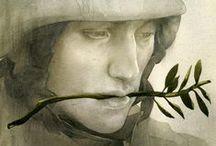 Peace and War / Δραστηριότητες και κατασεκυές σχετικές με την Ειρήνη και τον πόλεμο