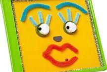 Face -Head / Δραστηριότητες και κατασκευές σχετικές με το πρόσωπο και το κεφάλι
