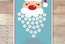 Christmas -  Advent Calendars - Countdown  / Διάφορες κατασκευές για χριστουγεννιάτικα ημερολόγια ..Και η αντίστοφη μέτρηση ξεκινάει!!