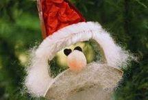 Santa crafts / Διάφορες ιδέες και κατασκευές για τον Άγιο Βασίλη!
