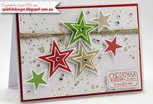 Christmas cards / Διάφορες ιδέες για να φτιάξετε χριστουγεννιάτικες κάρτες