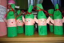 Christmas - Εlf craft / Διάφορες κατασκευές και ιδέες για ξωτικά των Χριστουγέννων