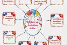 Carnival and school ( apokriatika ethima-drastiriotites) / Διάφορες δραστηριότητες σχετικές με τις απόκριες στο σχολείο