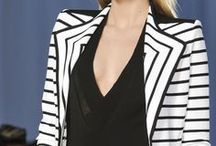 BLACK & WHITE STRIPES / Dressing - Black & White Stripes