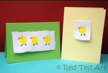 Easter cards / Ιδέες για πασχαλινές κάρτες!! / by Popi-it.gr