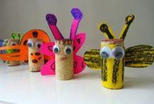 Bug - Insects crafts / Διάφορες ιδέες και κατασκευές για τα έντομα (αράχνες, μυρμήγκια, λιβελούλες, ακρίδες κ.ά ) . Πατρόν , Φύλλα εργασίας, πίνακες αναφοράς, γλωσσικά και μαθηματικά παιχνίδια.