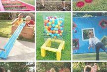 Outdoor activities for children / Δραστηριότητες και παιχνίδια για την αυλή!!