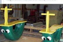 Playground DIY - Play area backyard / Φτιάξτε μόνοι σας την παιδική χαρά των παιδιών σας !!