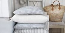 cute cushions / Ideas, tips and inspiration for cushions and throw pillows which will add more softness and colour to your bedroom or living room.