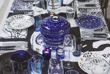 dishes, glassware etc.