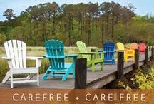 Get Ready for Summer Fun! The Possibilities are Truly Endless! OUTDOOR FURNITURE / CARE FREE SUMMER Now is the time to set the stage for your outdoor fun. You can feel great all summer relaxing in your very own Polywood® — American-made, high-quality furniture that meets the highest standard for earth friendly design. Built to last, this all-weather furniture is virtually maintenance-free. Made from sturdy wood-grain poly lumber, each handsome design is durable and easy to clean. Visit our website and choose your style and color.  It's an easy choice! http://ow.ly/MEJhE