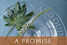 Wedding Promise / Their wedding day is full of promises, spoken and unspoken. It's an extraordinary event when ordinary won't do.  Honor the couple with a gift as unique as their love. We'll make it easy, we promise.  Choose from a gallery full of accessories handcrafted in America, each reflecting the care and personality of the artisan who created it. We're happy to gift wrap and ship too. Can't decide? Surprise them with a Gift Certificate.