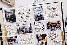 Travel Journal / Inspiratie en ideeën voor mijn Travel Journal