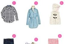 Cute Stylish Kids Clothes / Cute outfits and ideas for girls and boys. I've put together my best fashion tips for kids clothing for back to school, special occasions and holidays. I've also included stylish baby clothes and adorable microfashion.