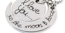 """ I love you to the moon and Back"" / Gorgeous pieces show how much you love some one."