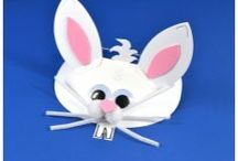 Easter Crafts for Kids / Fun Easter craft kits and ideas to keep the little ones entertained brought to you by the littlecraftybugs company.