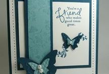 Butterfly Cards / love butterflies
