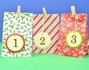 Advent Calendars To Make / Toss aside those uninspired chocolate calendars. Make your own personalised calendar with some help from the littlecraftybugs company!
