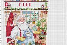 Haft krzyżykowy - Boże Narodzenie