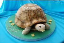 Turtle Cakes and Cupcakes / Turtle cake and cupcake designs, ideas and fan shares - posted by our Fans on our PartyAnimalOnline Facebook page using our products to create their wonderful cakes.