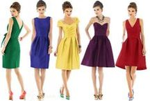 Bridesmaids / Color/style options for my bridesmaids.