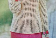 Free Vintage Knit and Crochet Patterns / Collection of vintage knit and crochet patterns.  I can't make these but maybe you can.