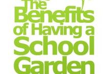 EDIBLE SCHOOL GARDENS / Children need to be rewarded for learning good methods.   Make every school ground edible.   If you would like to post on this board, simply start following it and then send an email stating you want to be able to post to: info@rollingplanter.com / by RollingPlanter.com